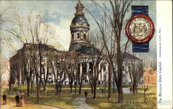 The Missouri State Capitol Jefferson City
