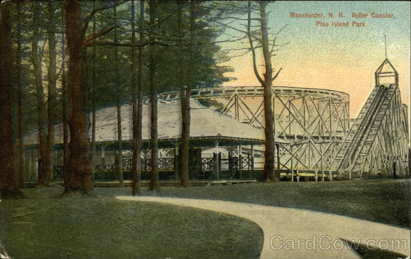 Roller Coaster, Pine Island Park Manchester New Hampshire