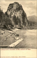 Castle Rock, Columbia River, Height 800 Feet Postcard