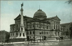 Court House and Soldiers Monument