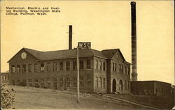 Mechanical, Electric and Heating Building, Washington State College