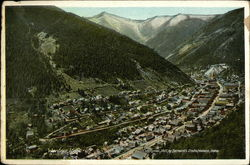 Aerial View of Town and Valley