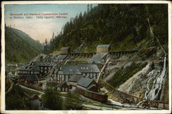 Mammoth and Standard Concentrators Located at Wallace, Idaho, Daily Capacity 1000 Tons