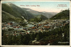 Mullan, Looking West Postcard