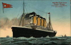 "Royal Mail Triple-Screw Steamer ""Olympic"" Postcard"