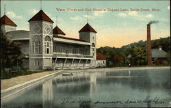 Water Works and Club House at Goguac Lake