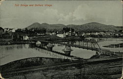 Toll Bridge and Village