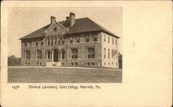 Colby College - Chemical Laboratory