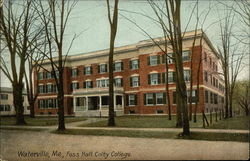 Colby College - Foss Hall
