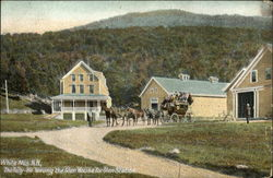 The Tally-Ho Leaving the Glen House for Glen Station, White Mts., N.H