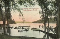 Canoeing at George's Mills