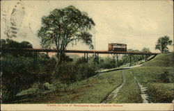 Trestle on Line of Manchester-Nashua Electric Railway