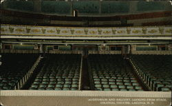Auditorium and Balcony, Looking From Stage, Colonial Theatre