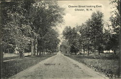 Chester Street Looking East Postcard