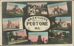 GReetings from Peotone