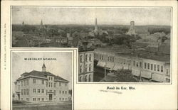 View of Town and McKinley School