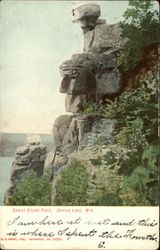 Great Stone Face, Devil's Lake