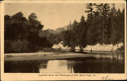 Lamoille River and Wintergreen Hill