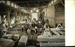 Woodbury Granite Co. Sheds - Interior