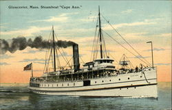 "Steamboat ""Cape Ann"""
