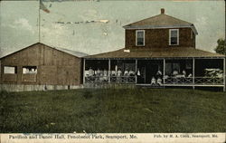 Pavilion and Dance Hall, Penobscot Park