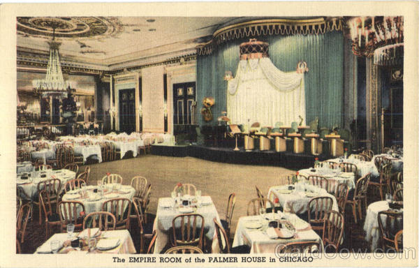 The Empire Room Of The Palmer House In Chicago Illinois
