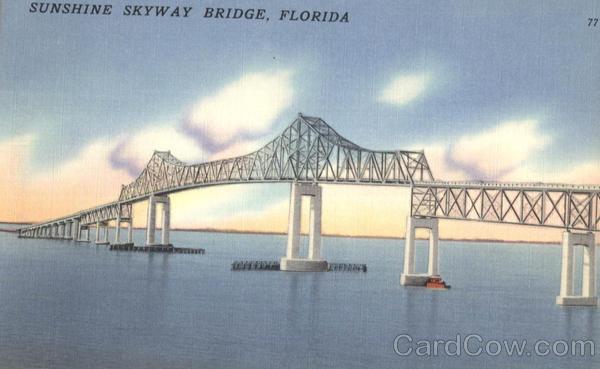 Sunshine Skyway Bridge Scenic 2011