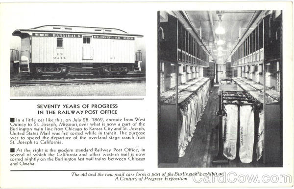 Seventy Years Of Progress In The Railway Post Office