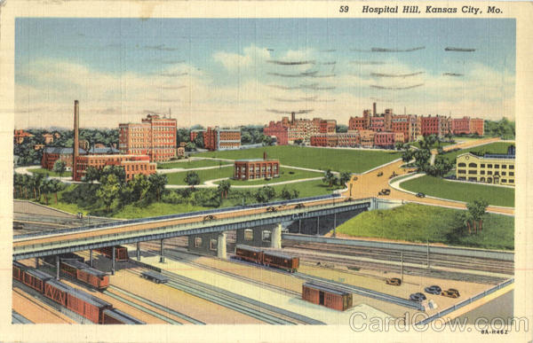 Hospital Hill Kansas City Missouri Depots