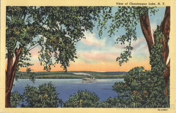 View Of Chautauqua Lake New York