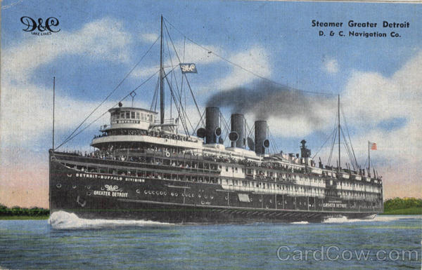 Steamer Greater Detroit Steamers