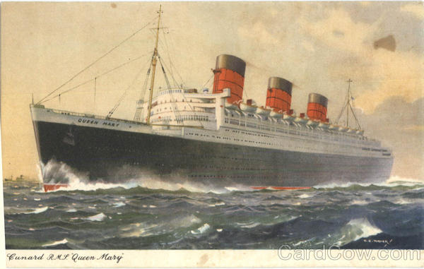 Cunard R.M.S. Queen Mary Boats, Ships