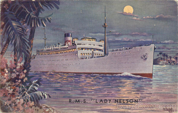 R.M.S. Lady Nelson Boats, Ships