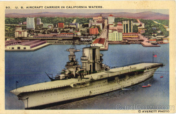 US Aircraft Carrier In California Waters Boats, Ships