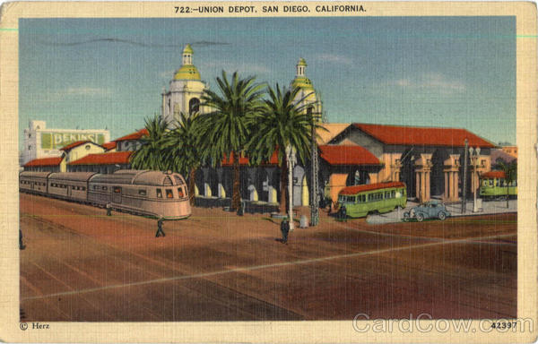 Union Depot San Diego California