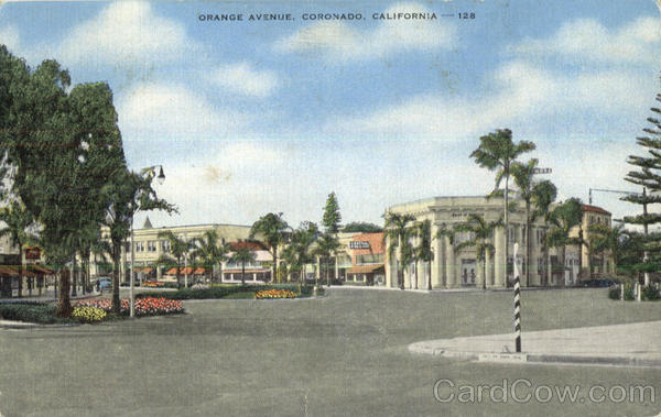 Orange Avenue Coronado California