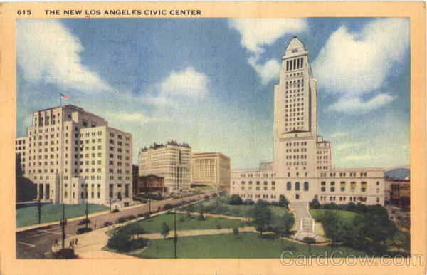 The New Los Angeles Civic Center California