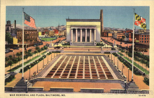 War Memorial And Plaza Baltimore Maryland