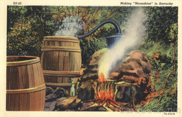 Making Moonshine In Kentucky Scenic
