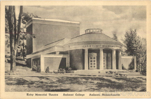 Kirby Memorial Theatre , Amherst College Massachusetts