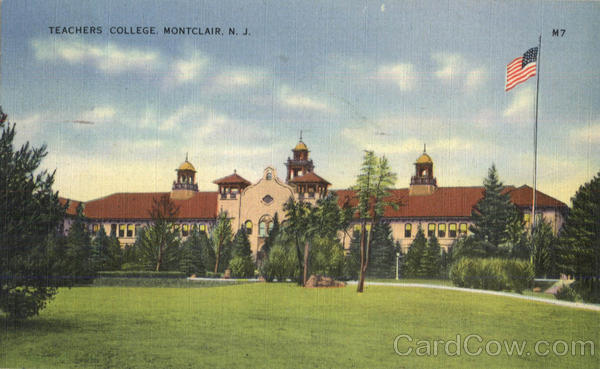 Teachers College Montclair New Jersey