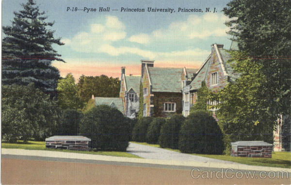 Pyne Hall, Princeton University New Jersey