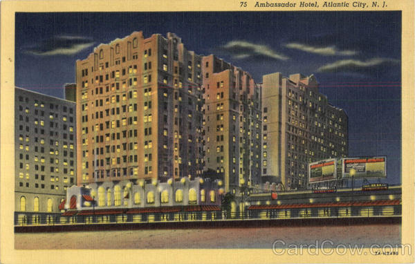 Ambassador Hotel Atlantic City New Jersey