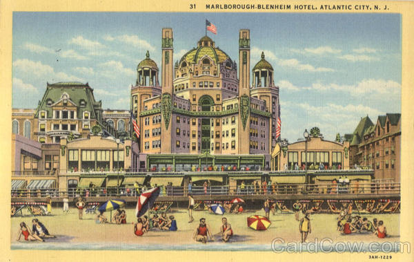Marlborough Blenheim Hotel Atlantic City New Jersey