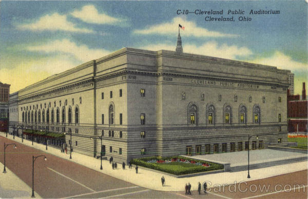 Cleveland Public Auditorium Ohio