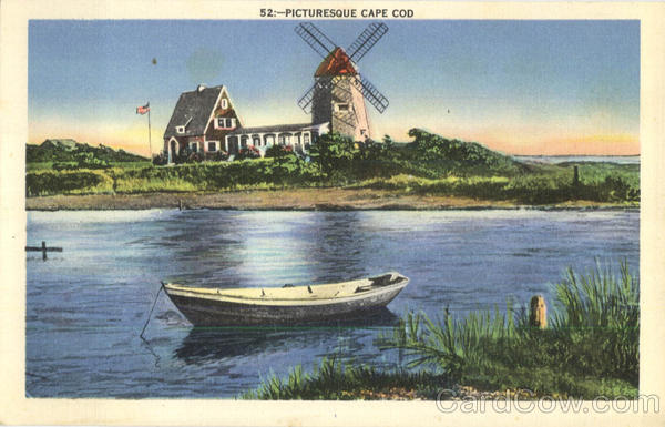 Picturesque Cape Cod Massachusetts
