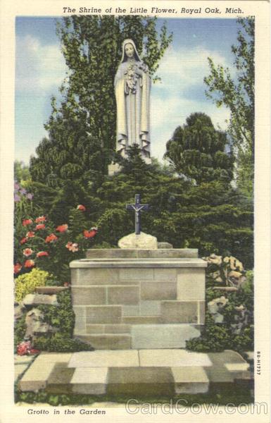 The Shrine Of The Little Flower Royal Oak Michigan