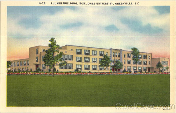 Alumni Building , Bob Jones University Greenville South Carolina