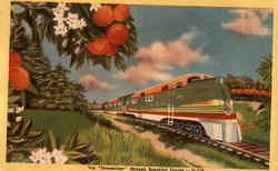 Via Streamliner Through Beautiful Florida