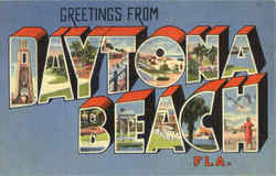 Greetings From Daytona Beach